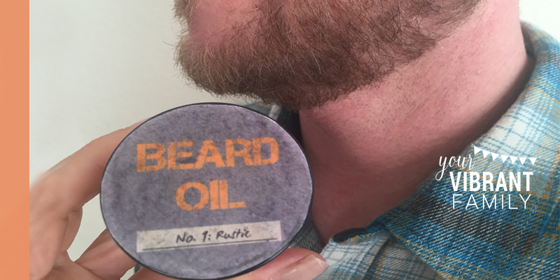 Know a guy with a beard? Here's how to make homemade beard oil--for a fraction of the cost of store-bought! This simple DIY Beard Oil recipe uses easy to find ingredients (plus has FREE LABELS!) Goodbye scratchy and scruffy. Hello soft, snuggly (and sexy)! Perfect DIY Father's Day gift, birthday gift or Christmas gift!