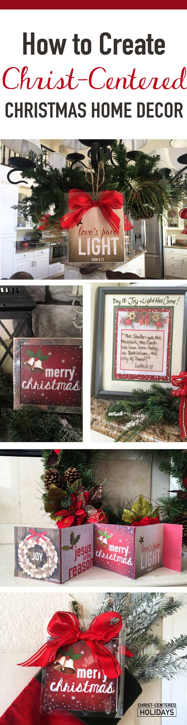 Looking for Christ centered Christmas home decor? Discover how to create unique Christmas decor that invites the true spirit of the holiday season with these Christ centered Christmas decorations. #christmashomedecor #christmas #christcenteredchristmas #christmasdecor