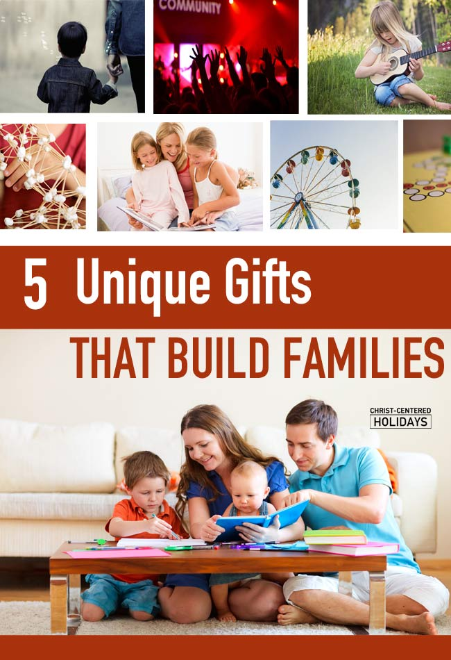 5 Unique Gifts for Families - Christ Centered Holidays