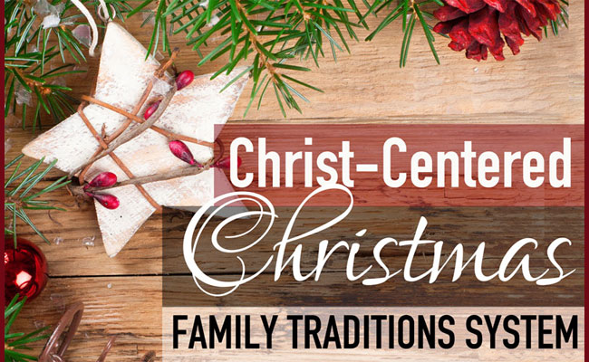 A Christ-Centered Holiday