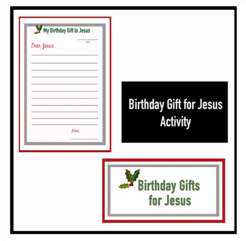 birthday gifts for Jesus | jesus christ birthday | happy birthday jesus | happy birthday jesus craft | jesus birthday gift | christmas family traditions | christmas traditions | Christmas morning activities