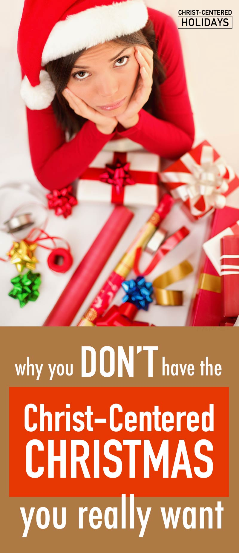 Looking for a more meaningful Christ centered Christmas (and not just exhaustion and busy-ness at the holidays)? Here are 6 mindsets to avoid, and two powerful strategies to make it easy to discover the Christ centered Christmas we all long for!