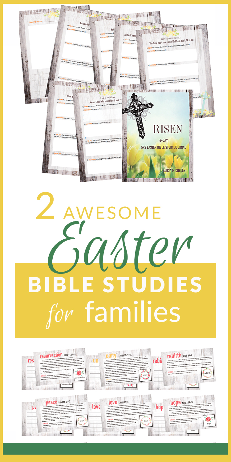 image about Free Printable Bible Study Lessons for Adults referred to as Perfect Easter Bible Research Classes Printables for Family members