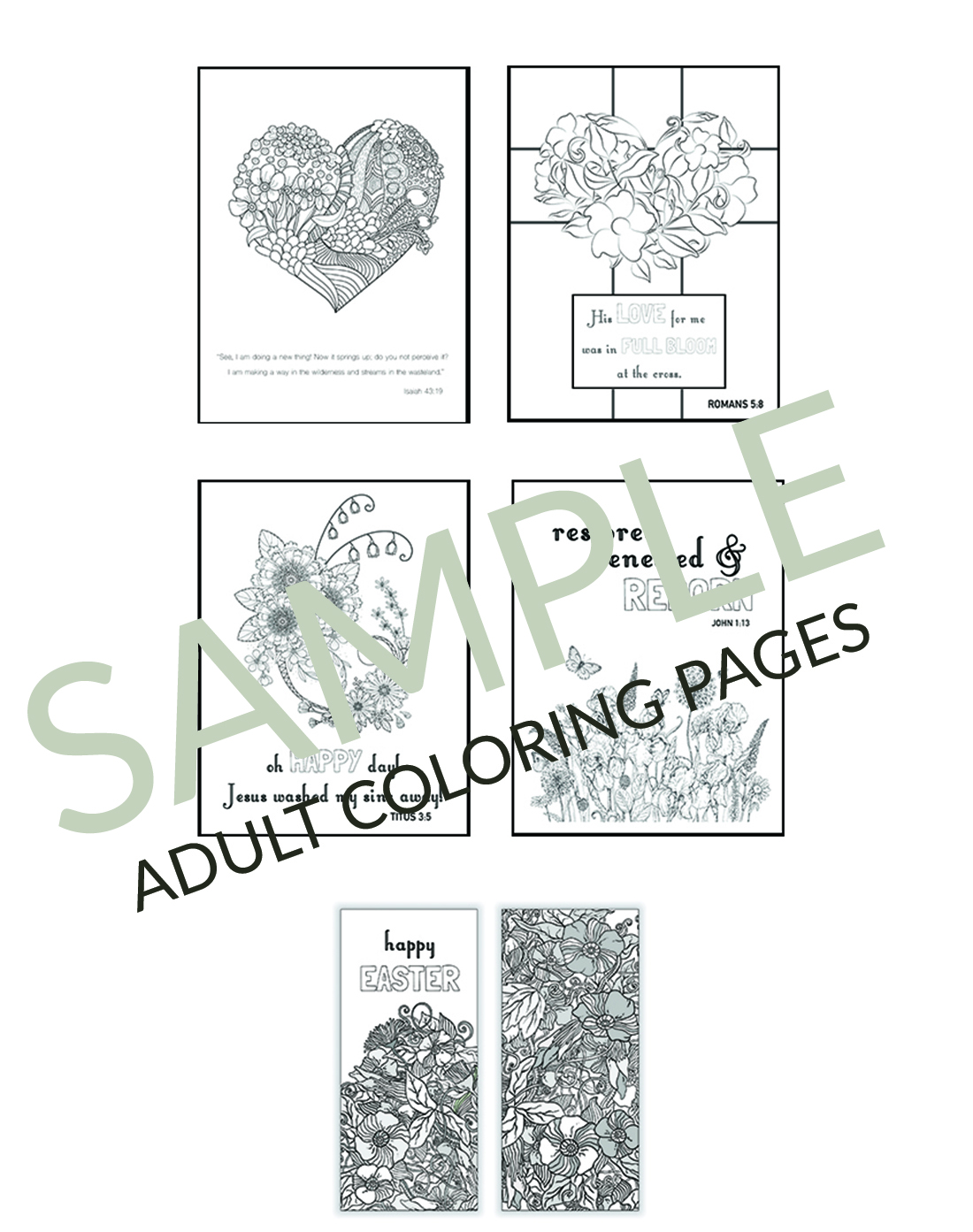 Christian easter coloring pages printables for kids for Christian crafts for adults