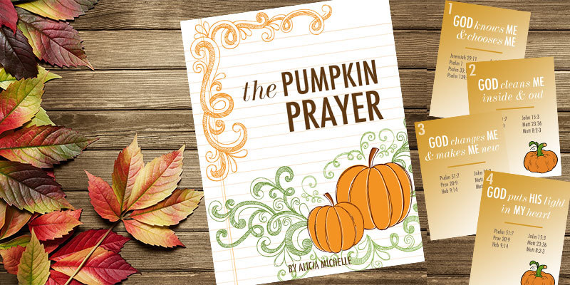 Pumpkin Prayer resources including pumpkin prayer printables to make a mini coloring book, a pumpkin prayer banner, and even a pumpkin gospel tract. You'll love this awesome Christian pumpkin lesson that shares about God with your kids as you carve pumpkins this fall—the pumpkin prayer!